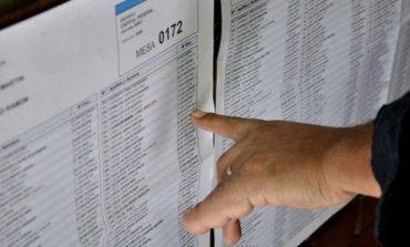 Consultá el padrón definitivo para las elecciones legislativas