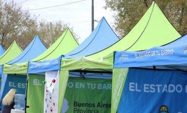 """El programa """"El Estado en tu Barrio"""" permanecerá esta semana en un barrio de Del Viso"""