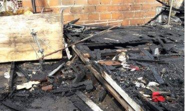Voraz incendio consumió una vivienda: Murieron dos nenes de 6 años