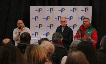 Autoridades del SAME explicaron el funcionamiento del sistema de emergencias en Pilar