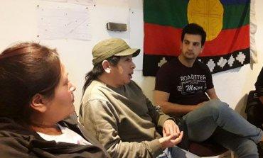 """Periodista Mapuche que conoció a Santiago Maldonado visitó Pilar: """"Es difícil que lo volvamos a ver"""""""