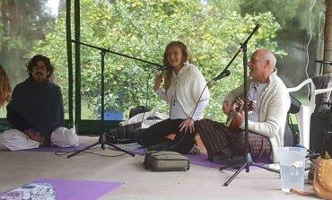 Pilar vivió su Festival de Yoga