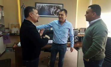 PASO 2017: Fabián Pitronaci se reunió con Walter Festa