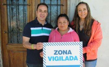 """""""1 País"""" instaló la primera alarma vecinal del sistema """"Alerta Buenos Aires"""""""