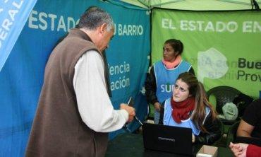 El Estado en tu Barrio, en Manuel Alberti