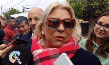 """Video - Carrió denunció que sectores de la oposición """"quieren voltear a Ducoté"""""""