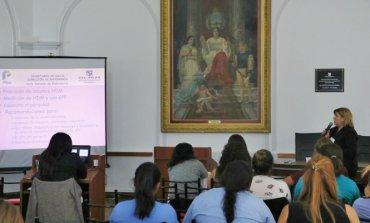 Se concretaron talleres y seminarios para enfermeros