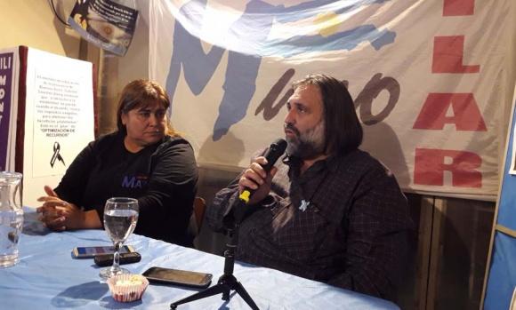 """Roberto Baradel: """"Hay que trabajar para construir un Pilar con más justicia social"""""""