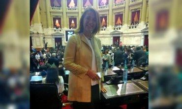 Marcela Campagnoli juró como Diputada Nacional