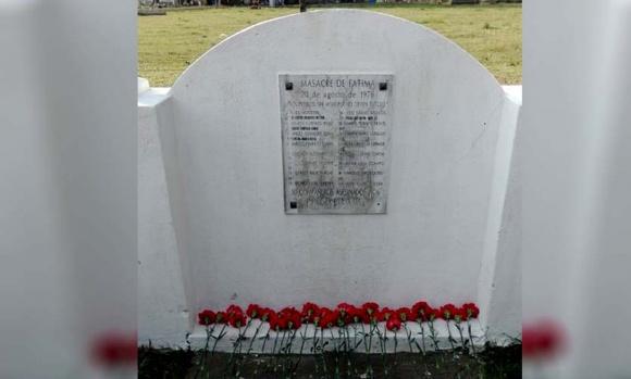 En Pilar, se homenajeó a las víctimas de la Masacre de Fátima