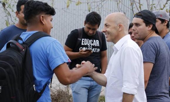 Ducoté se mostró a favor del programa del Servicio Cívico Voluntario