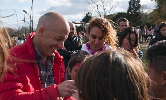 El intendente acompañó el festejo del Día del Niño en Zelaya