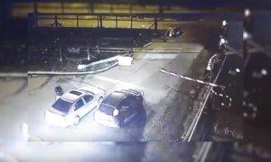 Video: roban a automovilistas en una de las bajadas de Panamericana