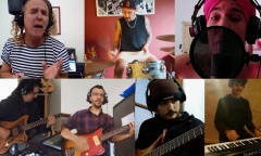 Video: Músicos pilarenses y una potente interpretación de un hit de Fito Páez