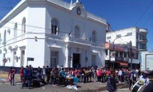 Se multiplican las protestas de organizaciones sociales en Pilar