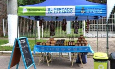 """Difunden el cronograma de esta semana de """"El Mercado en tu Barrio"""""""