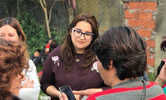 """Jésica Bortule: """"Estamos trabajando para garantizar la paz social"""""""