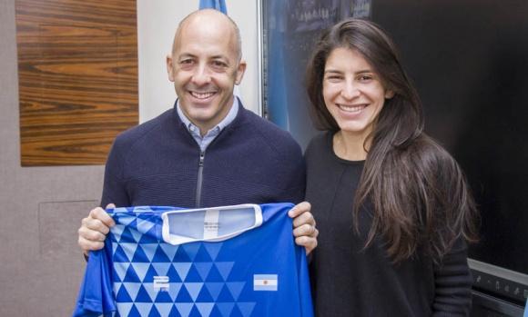 El Municipio otorgó un apoyo económico para una deportista pilarense