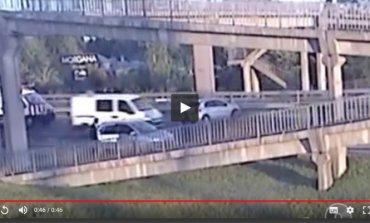 Video: así fue el accidente donde fueron atropellados una mujer policía y un agente del SAP