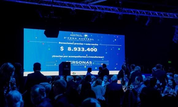 La Universidad Austral recaudó casi 9 millones de pesos para su fondo de becas