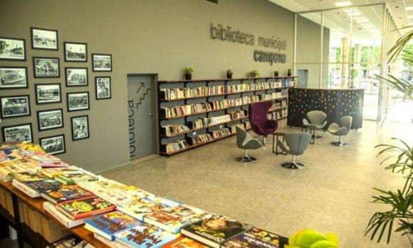 Se inauguró la biblioteca de Campana, gracias a concurso internacional organizado por CAPBA5