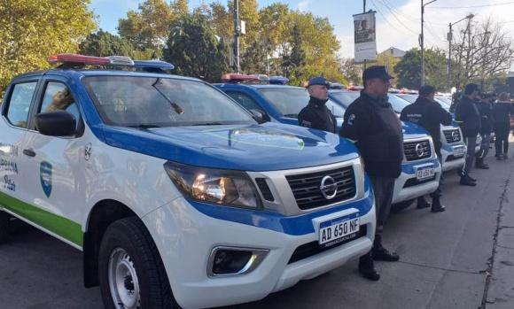 El Municipio presentó nuevas patrullas para la Guardia Urbana