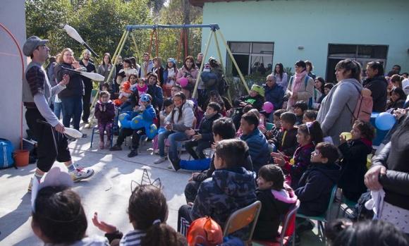 Festejo del Día del Niño en Pilares de Esperanza