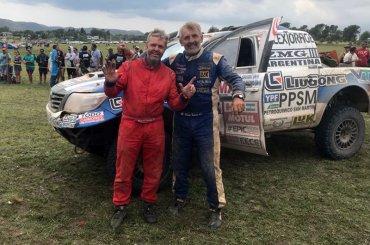 Roberto Naivirt terminó el Dakar 2018