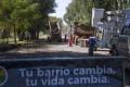 Operativos de seguridad y limpieza en Villa Rosa