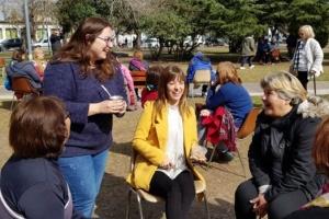 Más de 200 personas participaron de la caminata del adulto mayor en Villa Morra