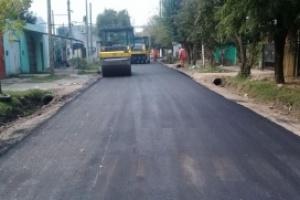 El Municipio espera para la semana que viene el primer desembolso del crédito para asfaltos